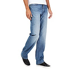 Burton - Light wash relaxed jeans*