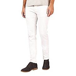 Burton - White super skinny fit 5 pocket jeans