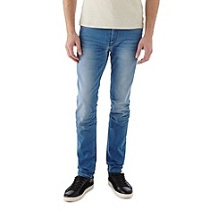 Burton - Bright blue stretch skinny jeans