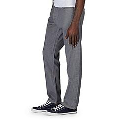 Burton - Grey wash straight jeans