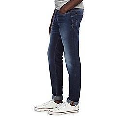 Burton - Washed blue skinny jeans