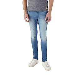 Burton - Bright blue super skinny jeans