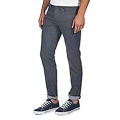 Burton - Grey raw strech skinny jeans