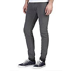 Burton - Grey super skinny jeans