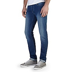 Burton - Bright blue vintage skinny jeans