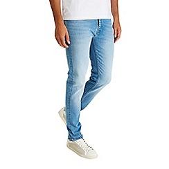 Burton - Light wash super skinny jeans