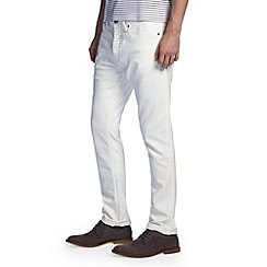 Burton - White slim denim jeans