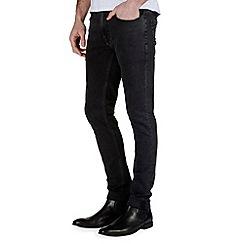 Burton - Washed black super skinny jeans