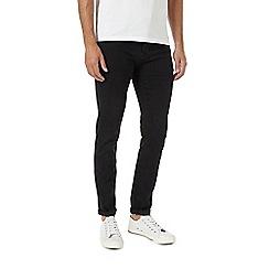 Burton - Black super skinny jeans with enhanced stretch