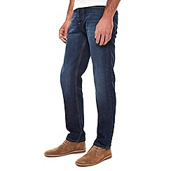 Burton - Blue washed straight jeans