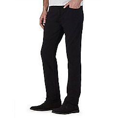 Burton - Black straight fit jeans*