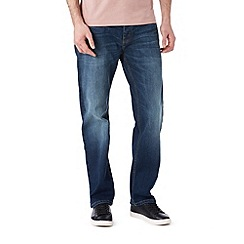 Burton - Mid blue straight leg jeans