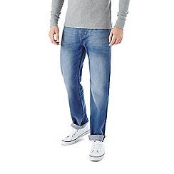 Burton - Bright blue straight leg jeans