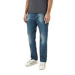 Burton - Greencast straight leg jeans