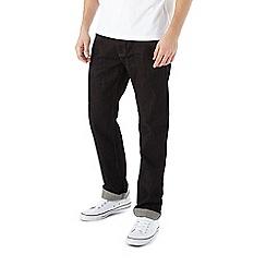 Burton - Premium black straight jeans