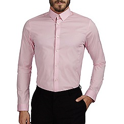 Burton - Pink stretch skinny shirt