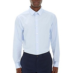 Burton - Blue regular fit smart shirt*