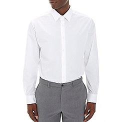 Burton - White regular fit smart shirt*