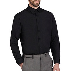 Burton - Black regular fit shirt*