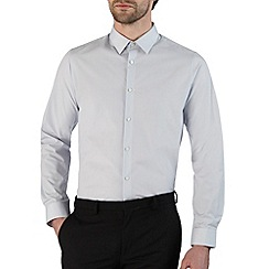 Burton - Ice grey slim fit smart shirt*