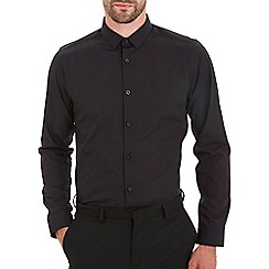 Burton - Slim fit black shirt