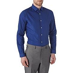 Burton - Skinny fit cobalt blue shirt