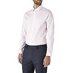 Burton - Skinny fit pink shirt