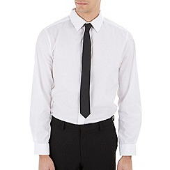 Burton - White tailored fit shirt