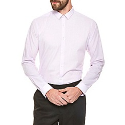 Burton - Pink textured smart shirt