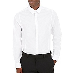 Burton - White skinny plain shirt