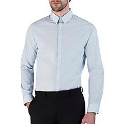 Burton - Sky blue skinny fit shirt