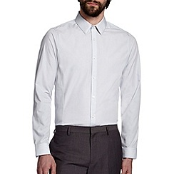 Burton - Ice grey skinny fit shirt