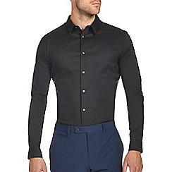 Burton - Black stretch smart shirt