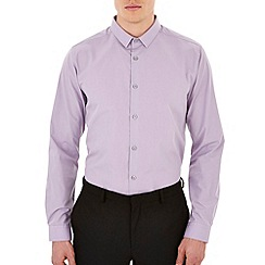 Burton - Lilac slim fit shirt
