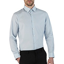 Burton - Sky blue tailored smart shirt