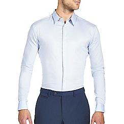 Burton - Blue stretch smart shirt