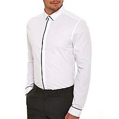 Burton - White tipped smart shirt