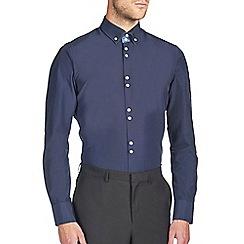 Burton - Navy smart shirt