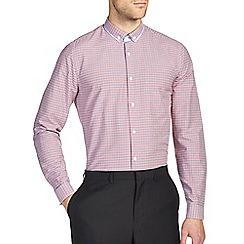 Burton - Red gingham smart shirt