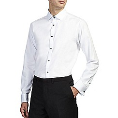 Burton - White tailored textured shirt