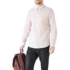 Burton - Long sleeve red printed shirt
