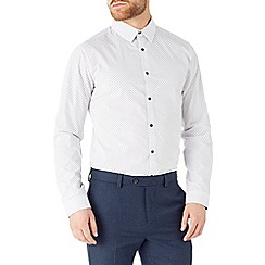 Burton - White micro collar shirt