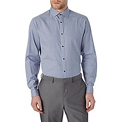 Burton - Tailored jacquard cotton shirt