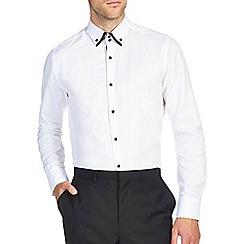Burton - White texture smart shirt