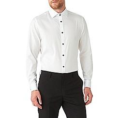 Burton - White texture tailored shirt