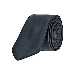 Burton - Plain black skinny tie