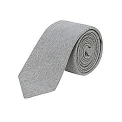 Burton - Grey slim tie