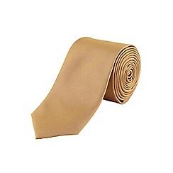 Burton - Gold tonic tie