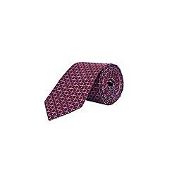 Burton - Red city sport geometric tie