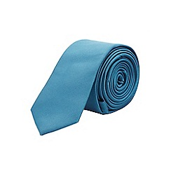 Burton - Skinny teal tie